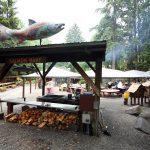 Salmon Bake in Juneau