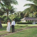 Bride and Groom marry in Hawaii