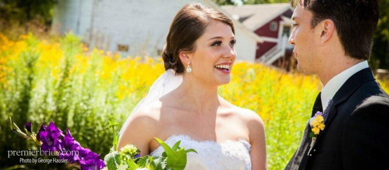 Emily and Travis marry at a rustic barn wedding in Wisconsin