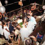 Lebanese wedding party