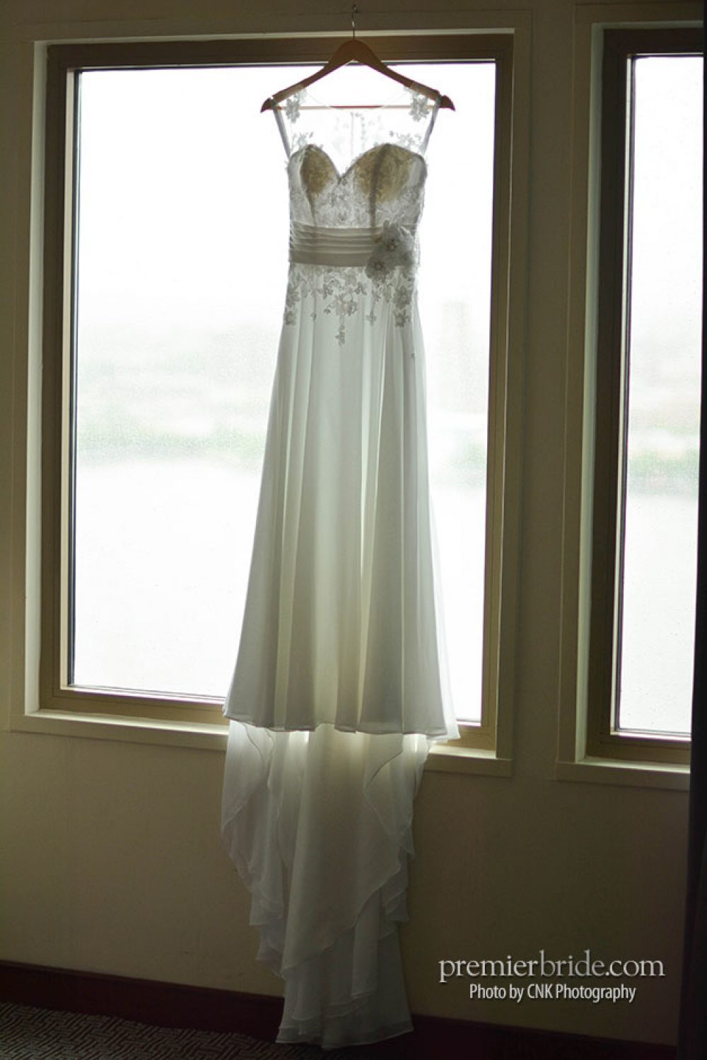 Wedding gown from Alfred Angelo