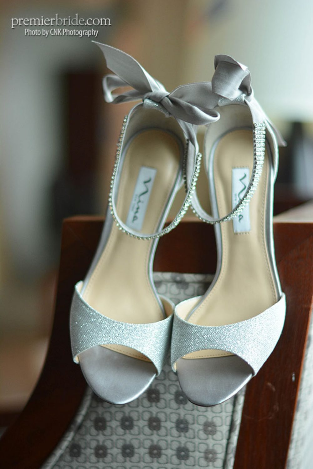 Brides shoes from Alfred Angelo