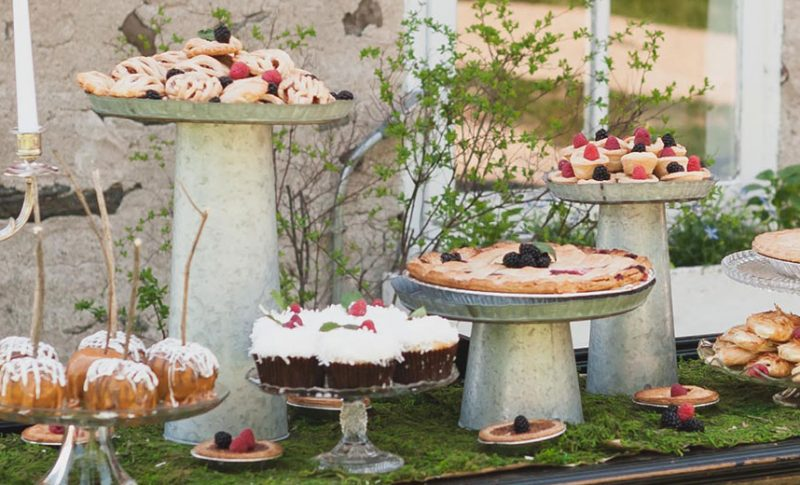 Sweets table - unique treats